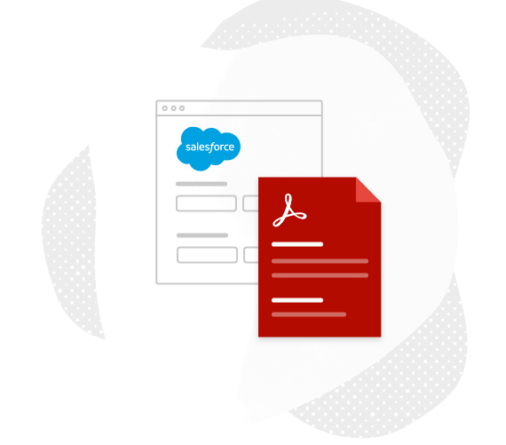 salesforce document generator